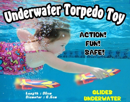 Torpedo Toy For Swimming Pool 2019 2016 New Underwater