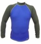Long Sleeve Rashguard Shirt (Blue Grey)