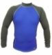 Long Sleeve Rashguard Shirt (Blue Grey)