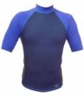 Short Sleeve Rashguard Shirt (Navy Blue)