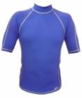 Short Sleeve Rashguard Shirt (Blue)