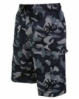 Board Shorts (Black Army Print)