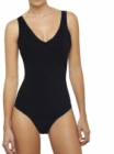 V-neck Swimsuit on Model