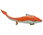 Orange Battery Operated Dolphin