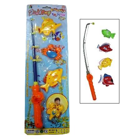 Children fishing set toy swimwear malaysia for Fishing toy set